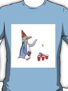 Beer Pong Penguin T-Shirt