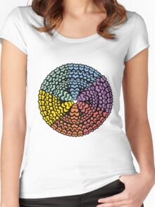 Lovely Doily Women's Fitted Scoop T-Shirt