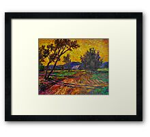 Twilight Ozarks Framed Print
