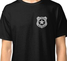 Wynonna Earp U.S. Marshal black badge division Classic T-Shirt