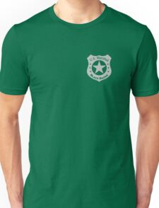 Wynonna Earp U.S. Marshal black badge division Unisex T-Shirt