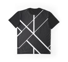 Architectural Voltage White on Black Graphic T-Shirt