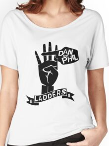 LADDERS - 2k15 (Black). Women's Relaxed Fit T-Shirt