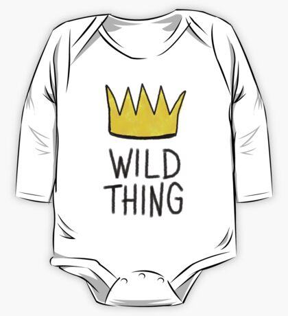Wild Thing One Piece - Long Sleeve