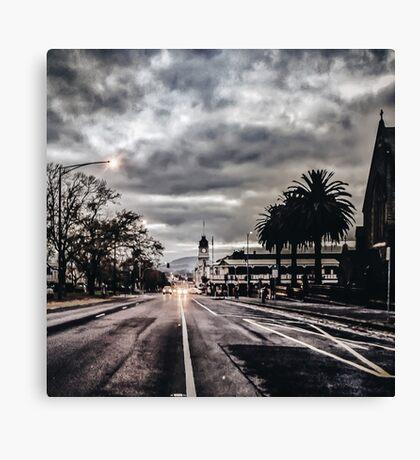 The Grey City Canvas Print