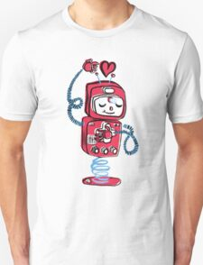 Red Robot T-Shirt