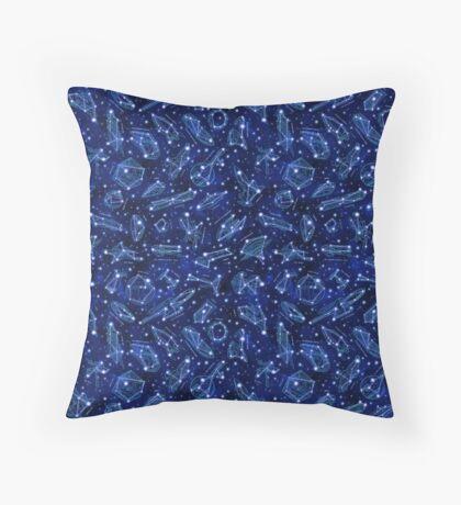 Legendary Star Ship Constellations Throw Pillow