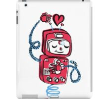 Red Robot iPad Case/Skin