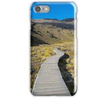 Boardwalk in Tongariro National Park (2) iPhone Case/Skin