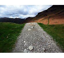The Loughrigg Trail,Cumbria Photographic Print