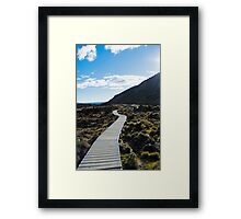 Boardwalk in Tongariro National Park (3) Framed Print