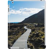 Boardwalk in Tongariro National Park (3) iPad Case/Skin