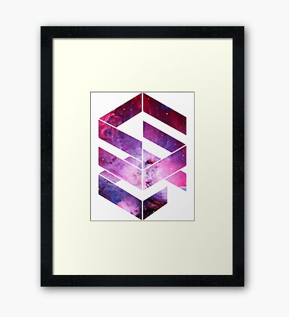 Abstract Space - version 1 Framed Print