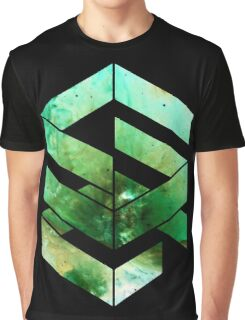 Abstract Space - version 2 - inverted Graphic T-Shirt