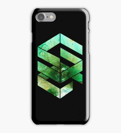 Abstract Space - version 2 - inverted iPhone Case/Skin