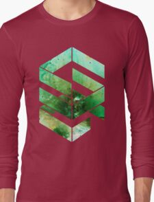 Abstract Space - version 2 - inverted Long Sleeve T-Shirt