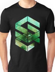 Abstract Space - version 2 - inverted Unisex T-Shirt