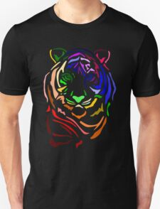 Rainbow Tiger Unisex T-Shirt