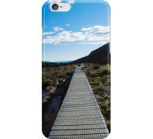 Boardwalk in Tongariro National Park (4) iPhone Case/Skin