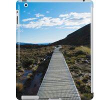 Boardwalk in Tongariro National Park (4) iPad Case/Skin