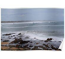Surfers - Middleton South Australia Poster