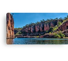 Nitmiluk Gorge Canvas Print