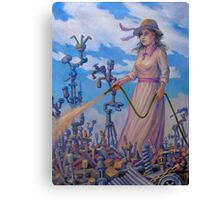 Mary Mary (Quite Contrary) Canvas Print