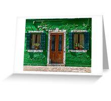 Door and windows 55 Greeting Card