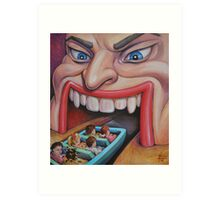 Welcome to the Funhouse Art Print