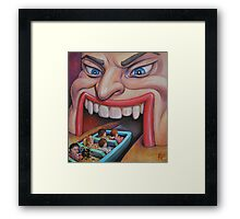 Welcome to the Funhouse Framed Print