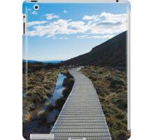 Boardwalk in Tongariro National Park (5) iPad Case/Skin