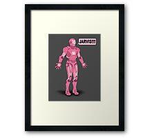 Pink Ironman Framed Print