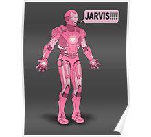 Pink Ironman Poster