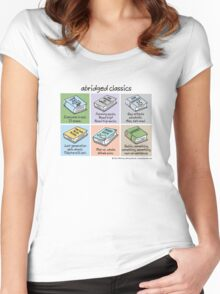 abridged classics Women's Fitted Scoop T-Shirt