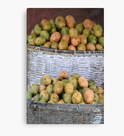 mango fruit Canvas Print