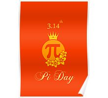 Queen of Pi Poster