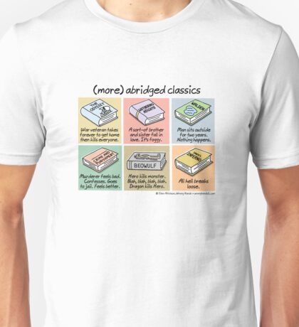 (more) abridged classics Unisex T-Shirt