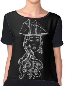 Sea's a Witch! Burn Her! Burn Her! Chiffon Top