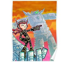 Commander Mecha Kid Poster