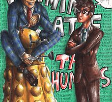 Hannibal - Doctor Who - Exterminate the humans by Furiarossa