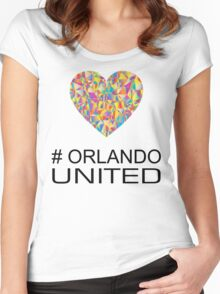 Orlando United Women's Fitted Scoop T-Shirt