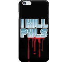 I KILL PXLS (Bloody Black) iPhone Case/Skin