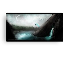 Butterfly Lake Canvas Print
