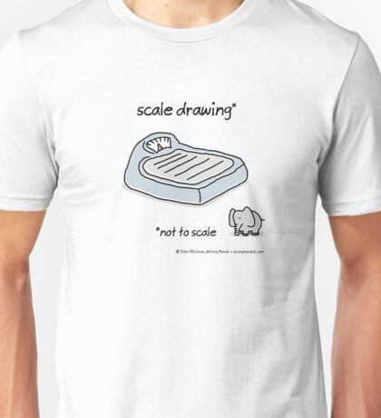 scale drawing Unisex T-Shirt