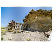 Abandoned movie location in the Tabernas desert. Poster