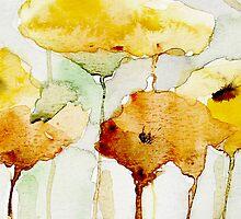 yellow flowers by annemiek groenhout