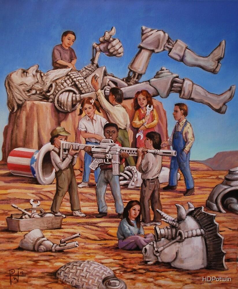 The Resurrection of Quixote Sam by HDPotwin