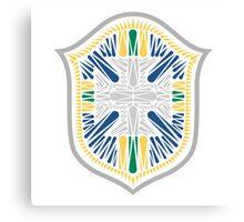 Brazil Crest Canvas Print
