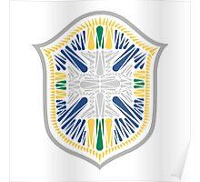 Brazil Crest Poster