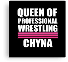 Queen of Pro Wrestling Canvas Print